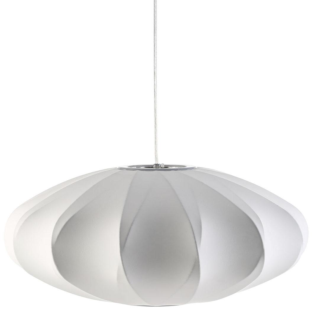 white globe pendant light 1
