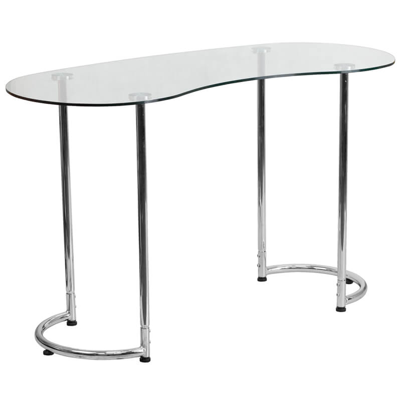 Glass Shape Desk 2