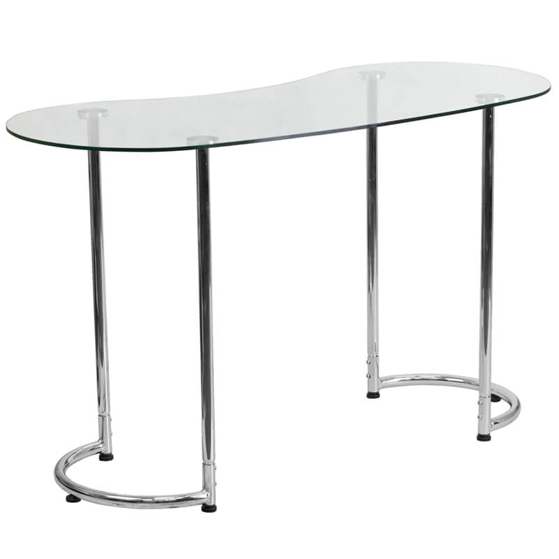 Glass Shape Desk 3