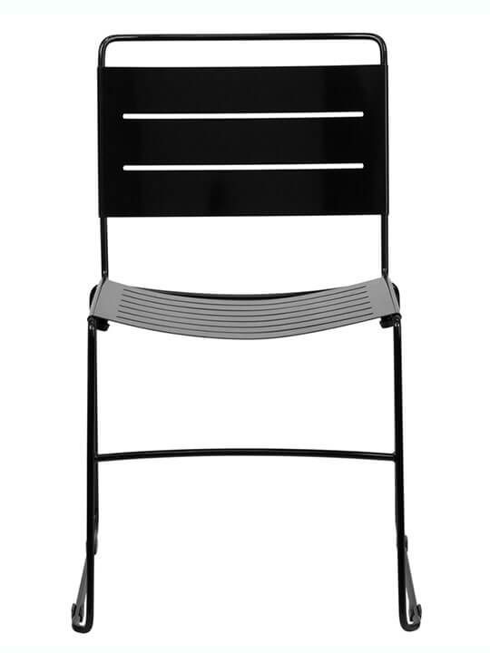 metal stripe chair