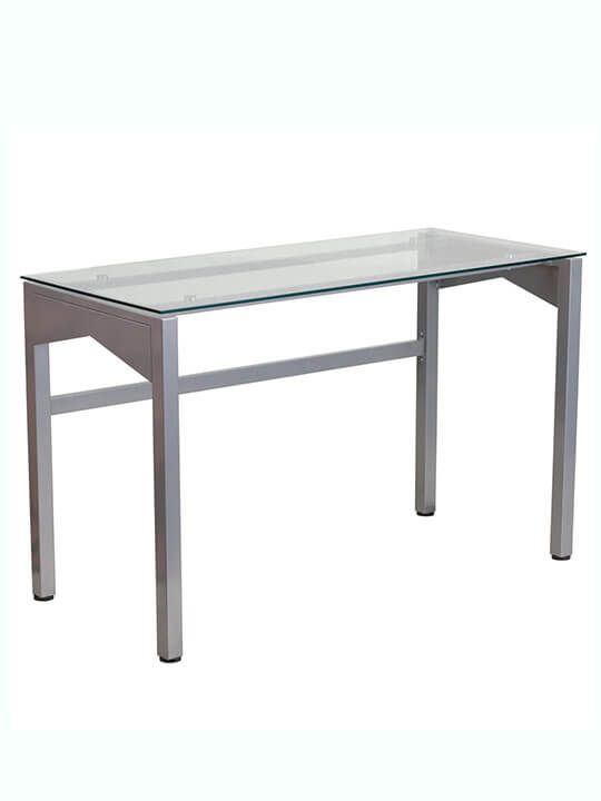 glass frame desk