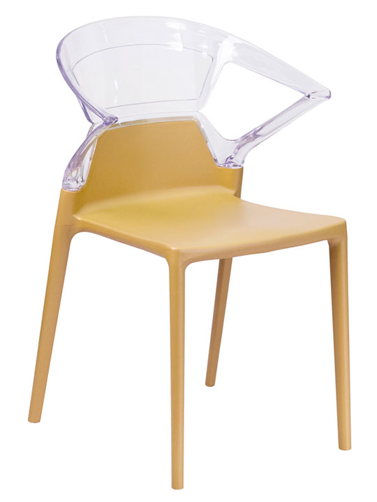Clear Yellow Chair 1