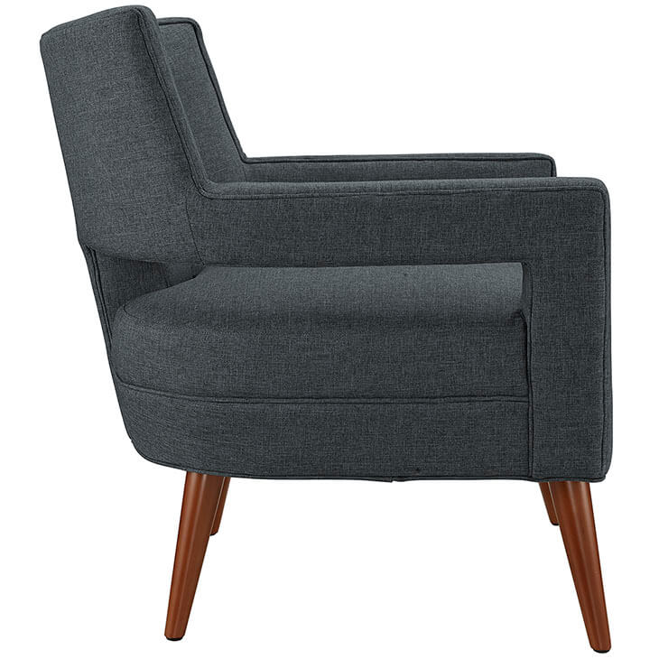 Regent Armchair Dark Grey 2