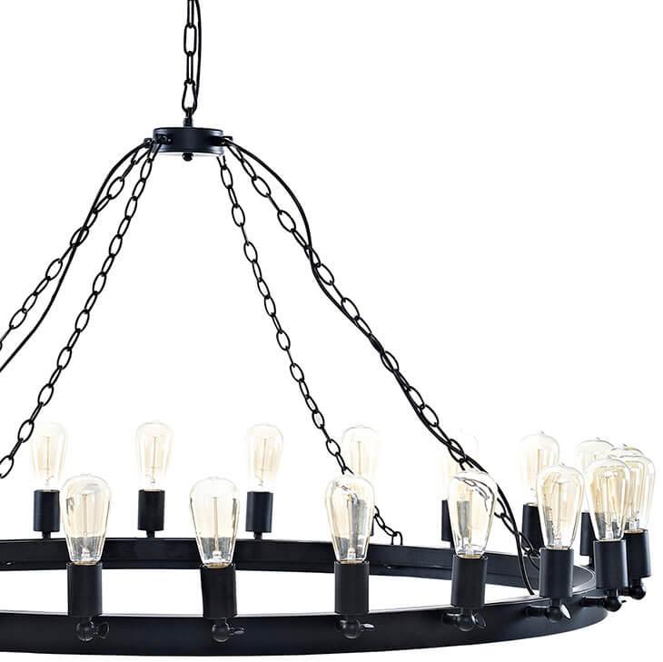 edison bulb chandelier large 3