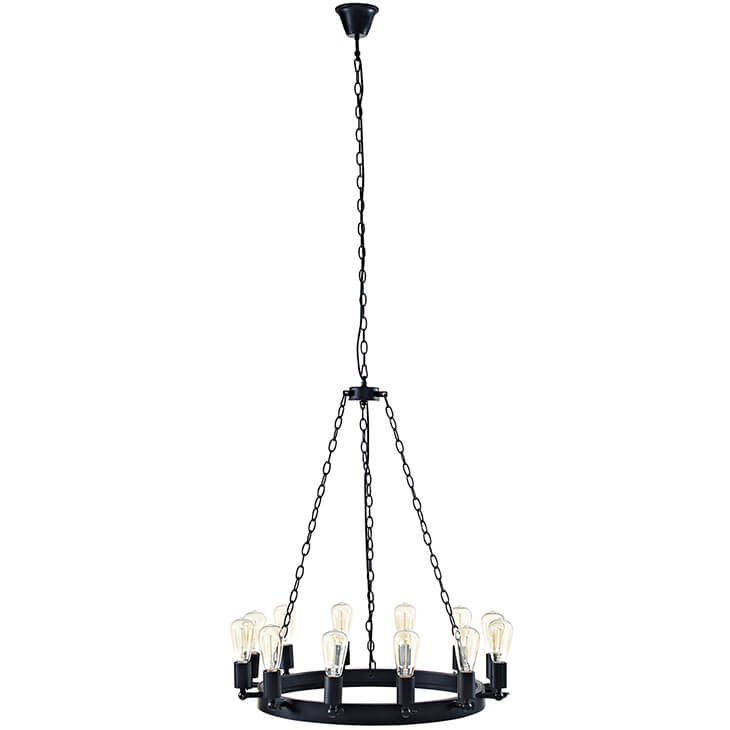 edison bulb chandelier small 1