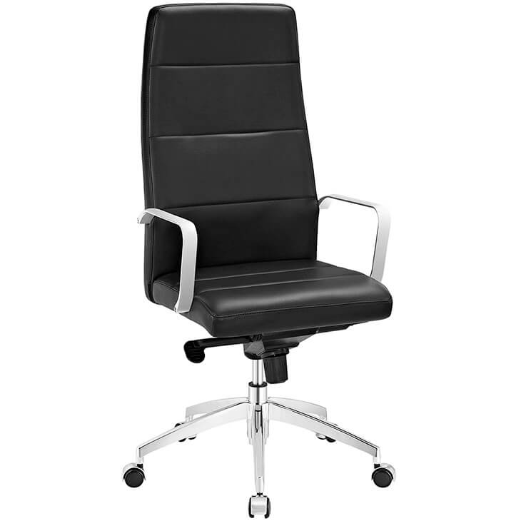 instant equity office chair black