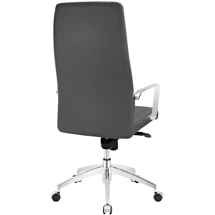 instant equity office chair grey