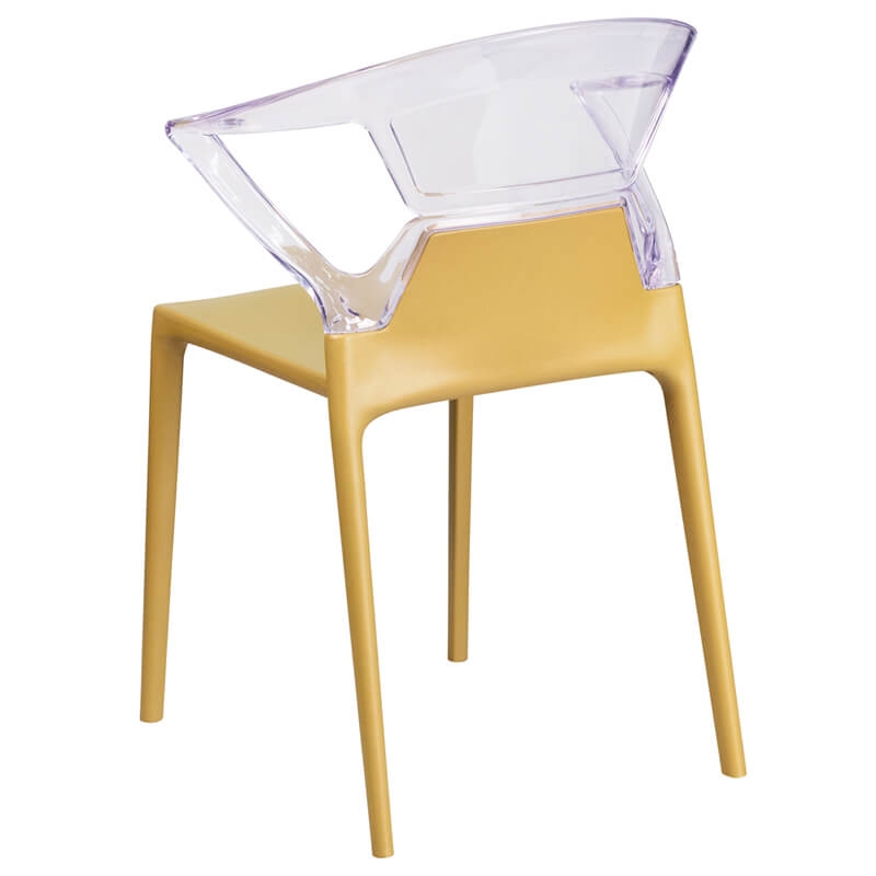 lemon clear yellow chair 3