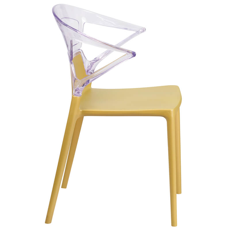 lemon clear yellow chair
