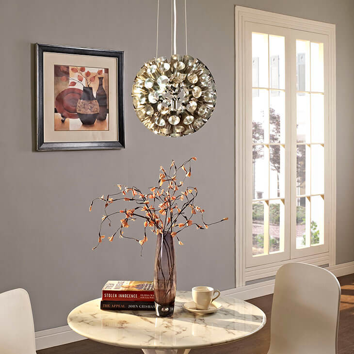 silver circa pendant light 3