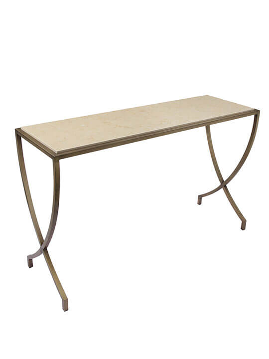 Caspian Marble Console Table