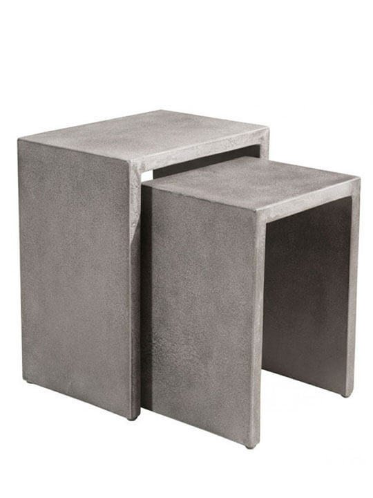 concrete nesting tables