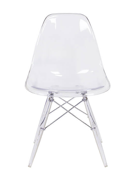 clear eames chair