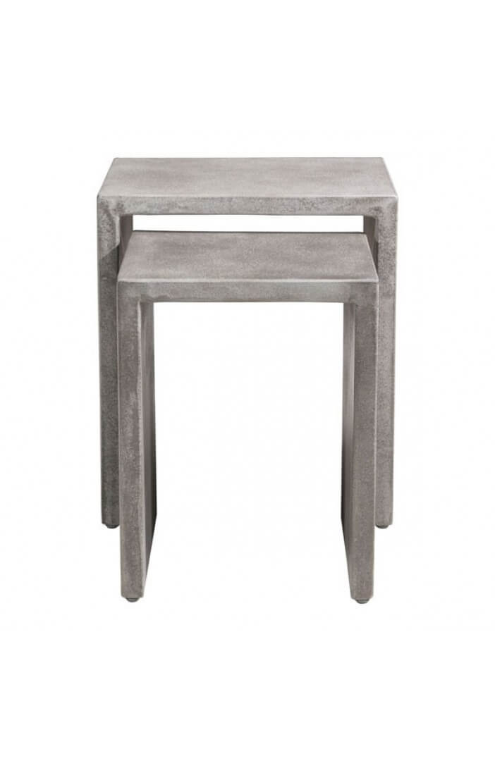 Concrete Nesting Tables 10