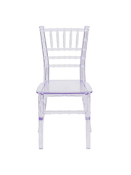 Kids Clear Elegant Chair 1