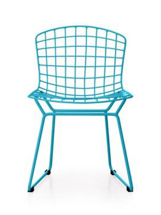 Kids blue modern chair
