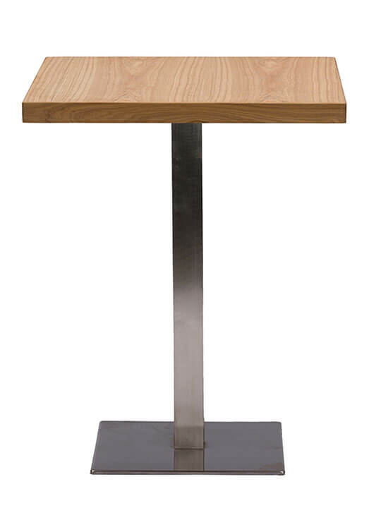 Wood Cafe Table