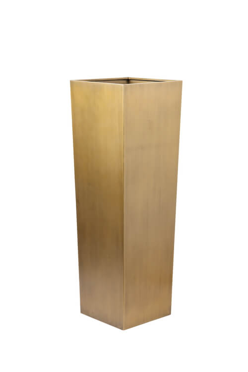 brass large planter