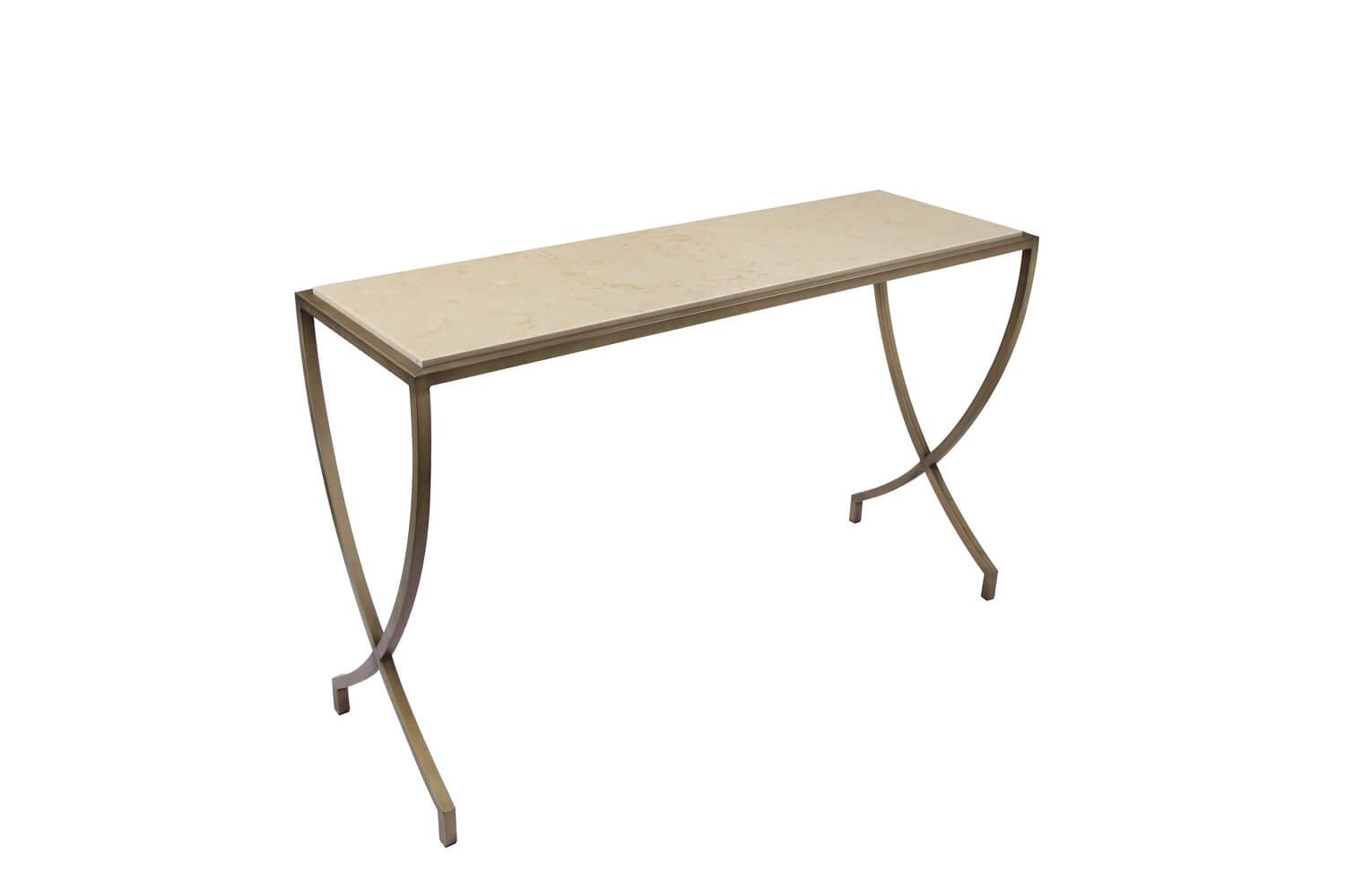 caspian marble console table 5