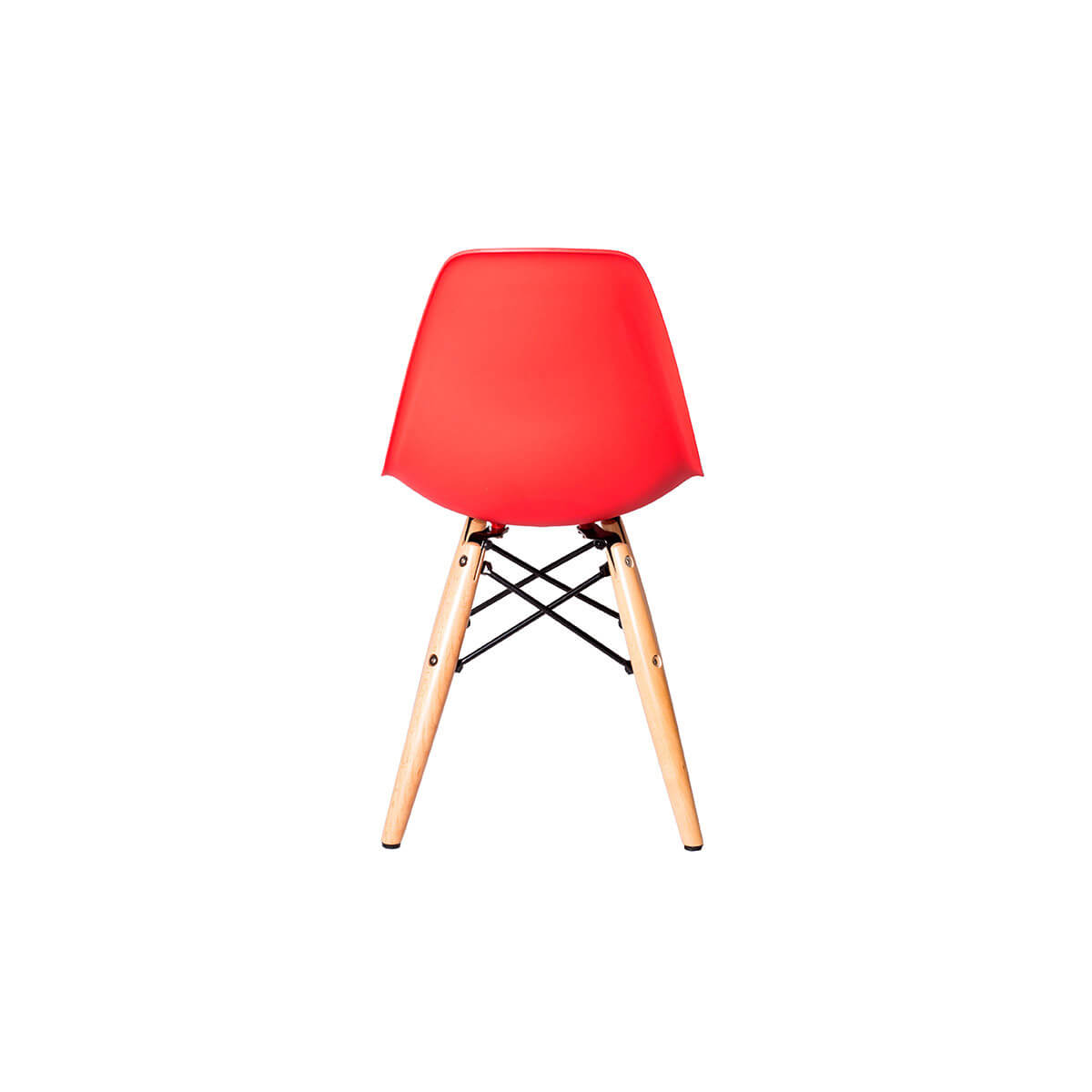 eames red children chair