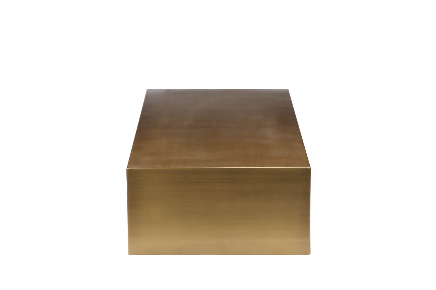 gold brass coffee table