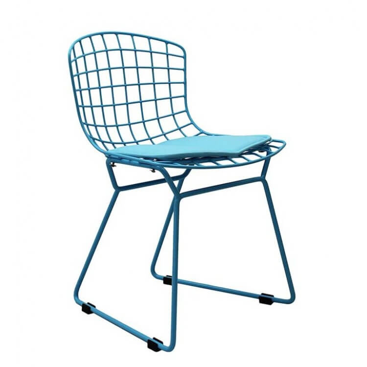 kids blue chair modern