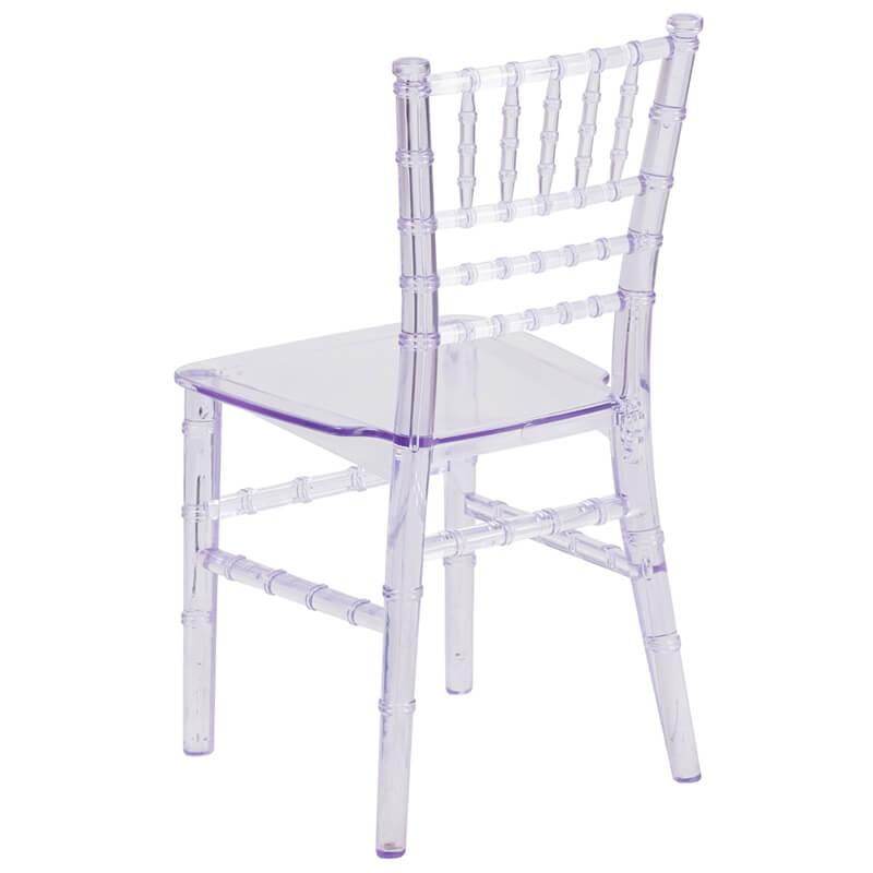 kids clear modern chair 1