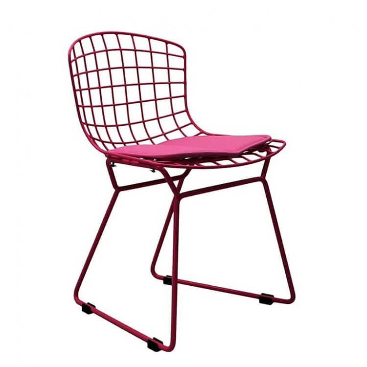 kids modern pink chair