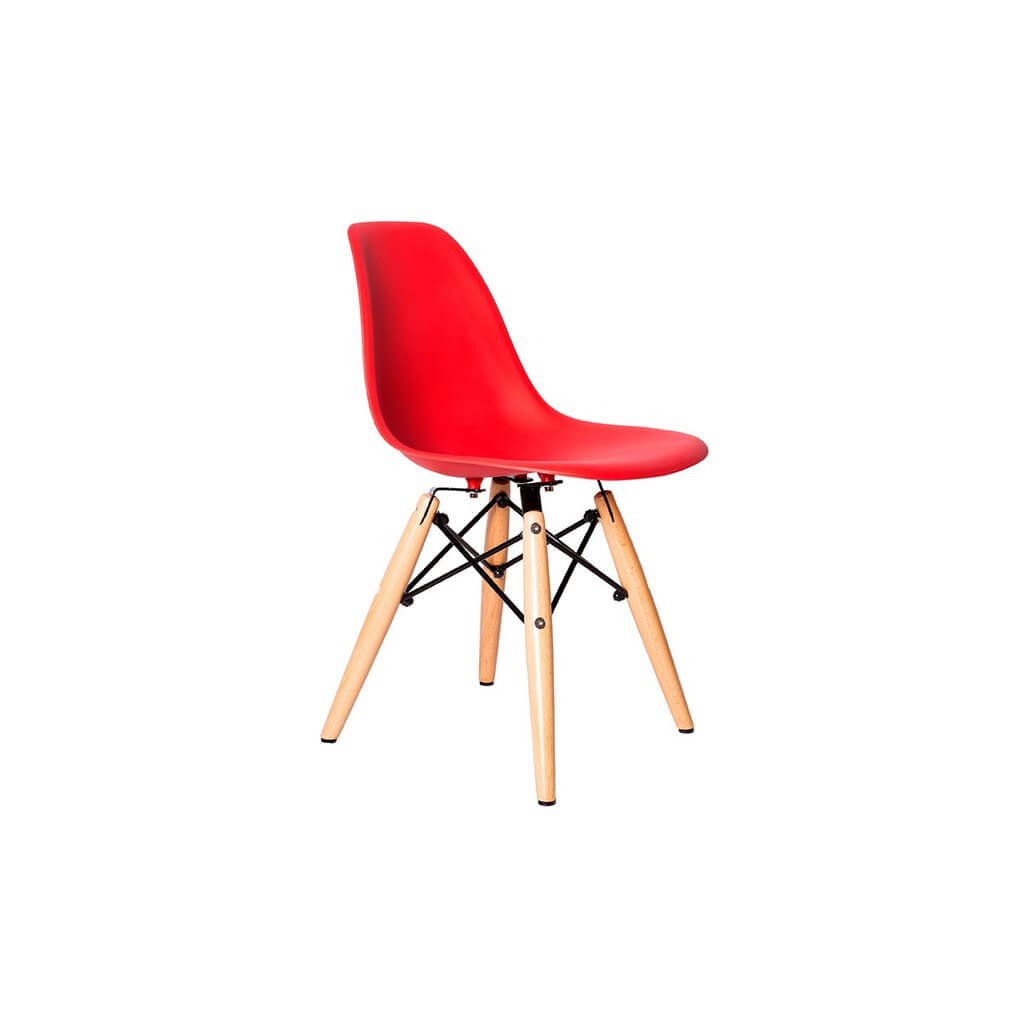 kids red ceremony wood chair