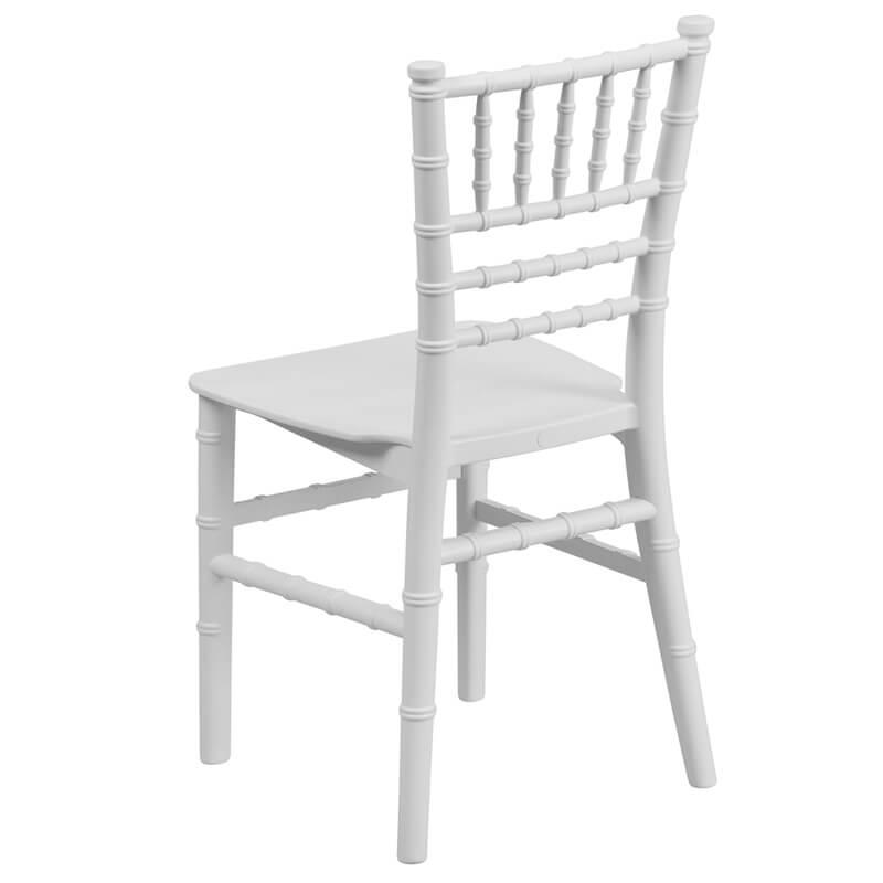 kids white chair