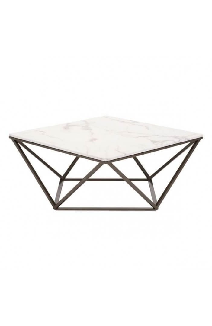 marble brass coffee table