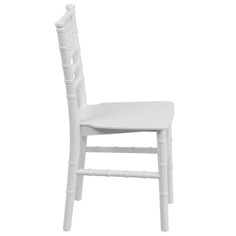 white kids seating chair