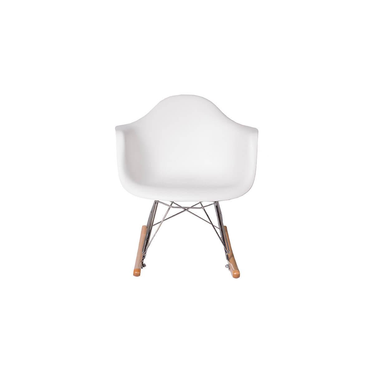 white rocking chair kids