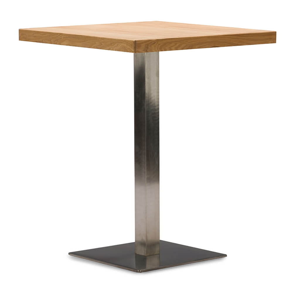 wood cafe table 2