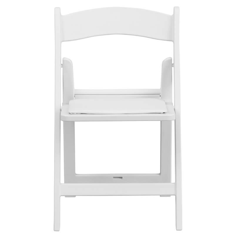 Kids White Folding Chair 4 1