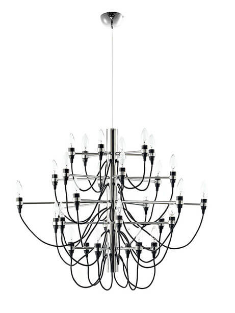 wire hanging chandelier
