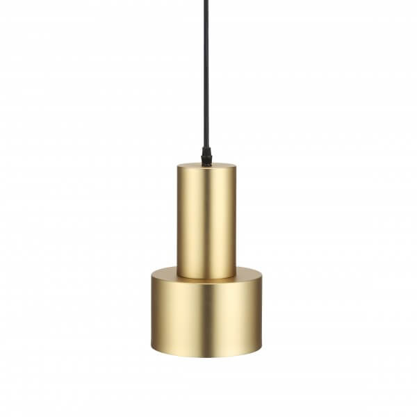 gold scope pendant light