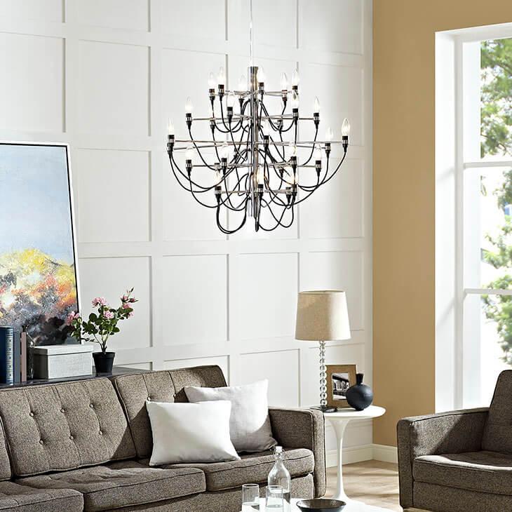 stem chandelier