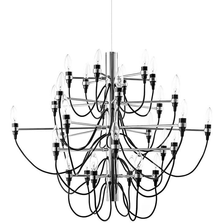 stem wire chandelier
