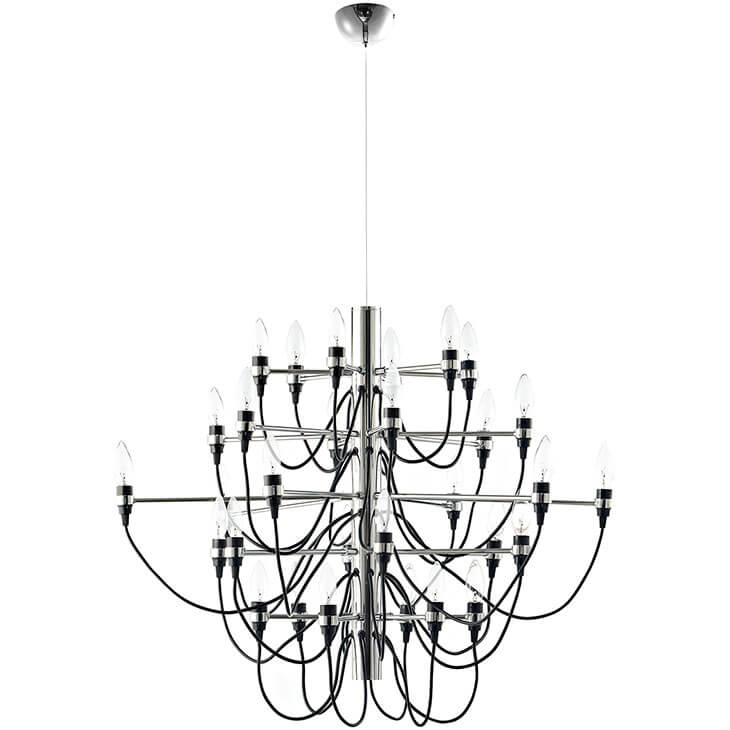 wire chandelier