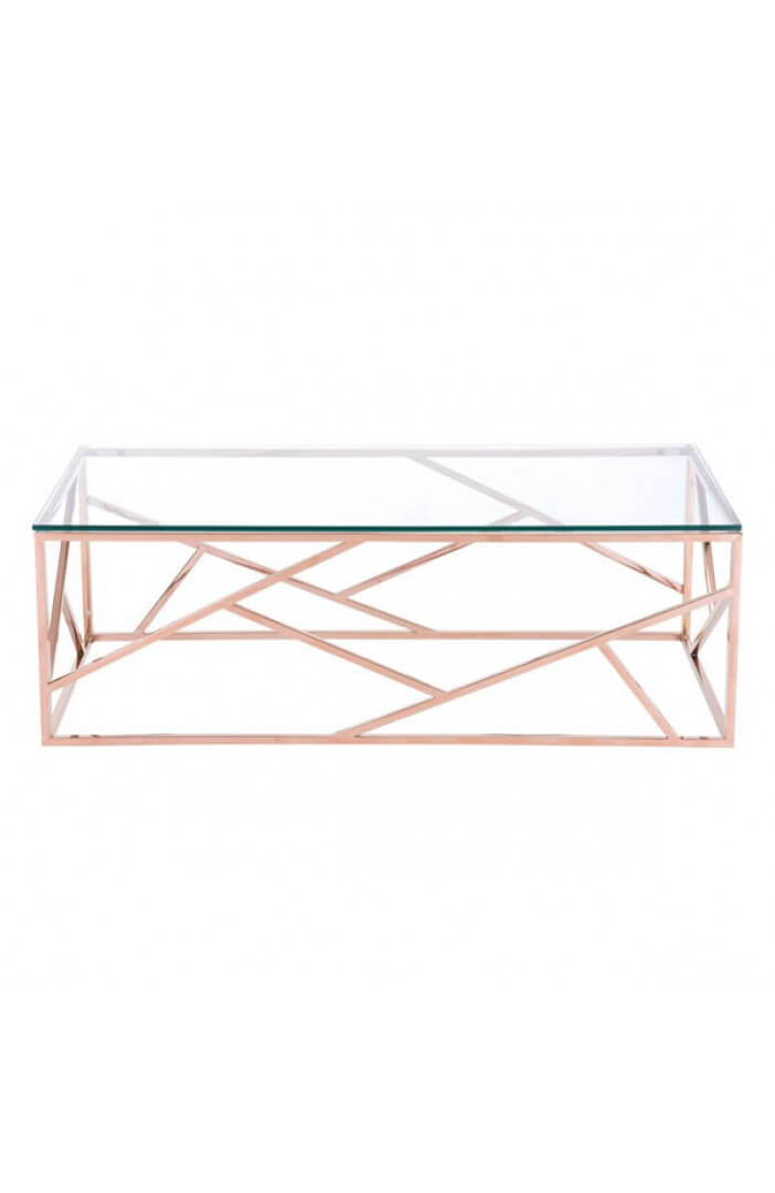 aero rose gold coffee table 1