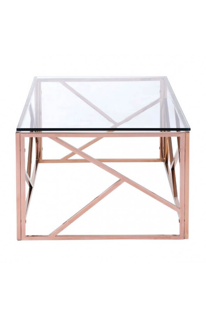 aero rose gold coffee table 2