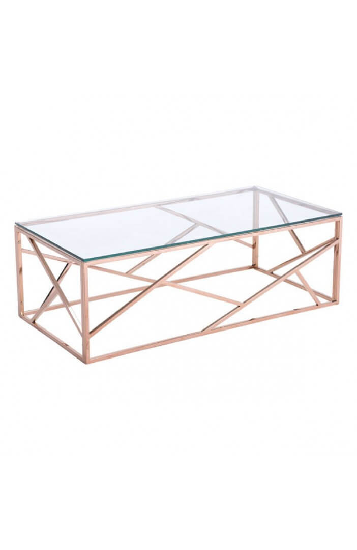 aero rose gold coffee table 3