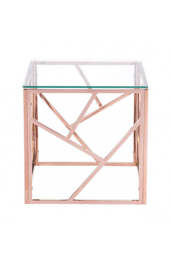 aero rose gold side table 2