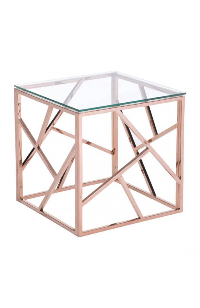 aero rose gold side table 3