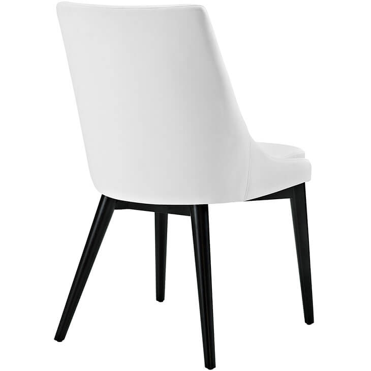 alps white leather chair 3