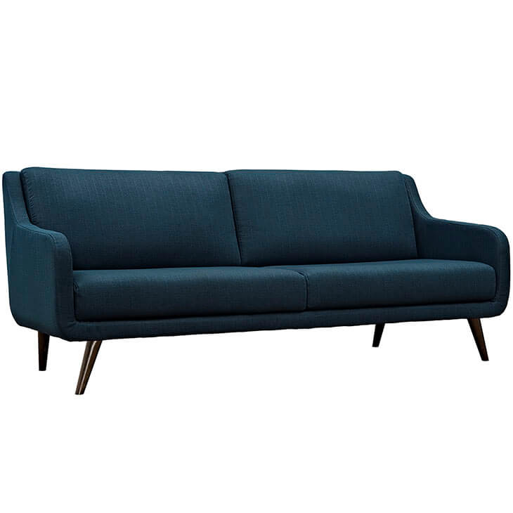 archive blue fabric sofa 3