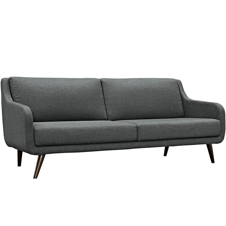 archive dark gray fabric sofa 3