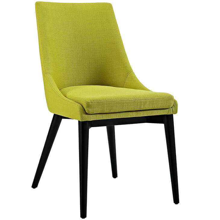 lime green alps fabric chair 2