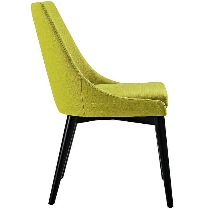 lime green alps fabric chair